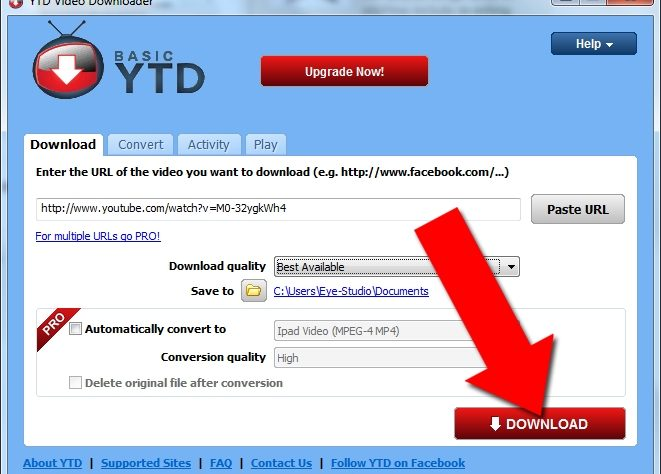 steps how to download video from youtube