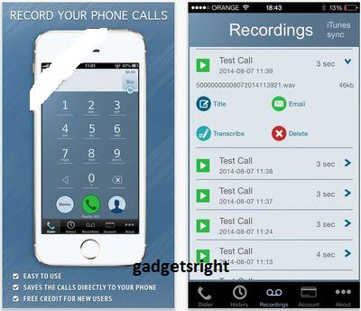 Calllogpro iphone