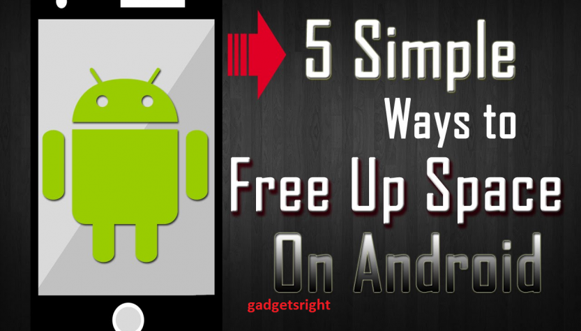 Free up disk space on android devices