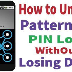 unlock android pattern lock