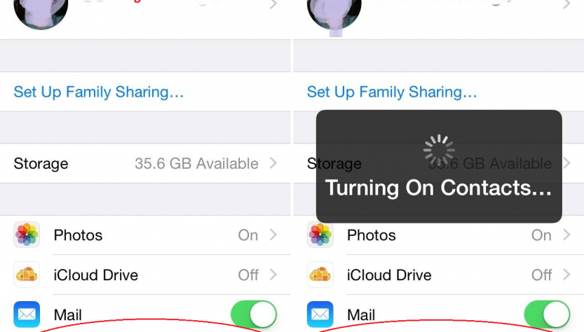 Get Back Contacts Disappeared on iPhone
