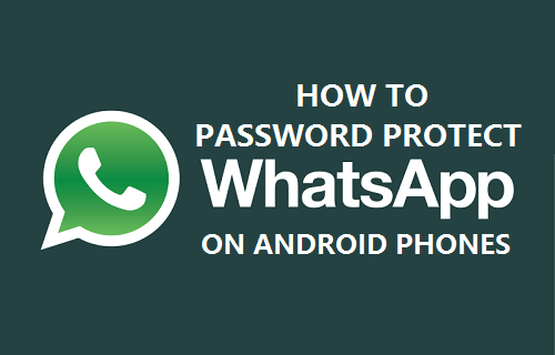 Password Protect WhatsApp