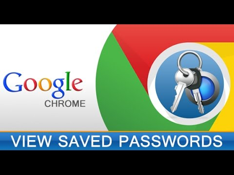 View Saved Passwords in Chrome