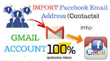 Export Facebook Contacts To Gmail