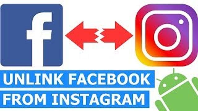 Unlink Facebook From Instagram