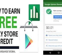 Free Google Play Credits
