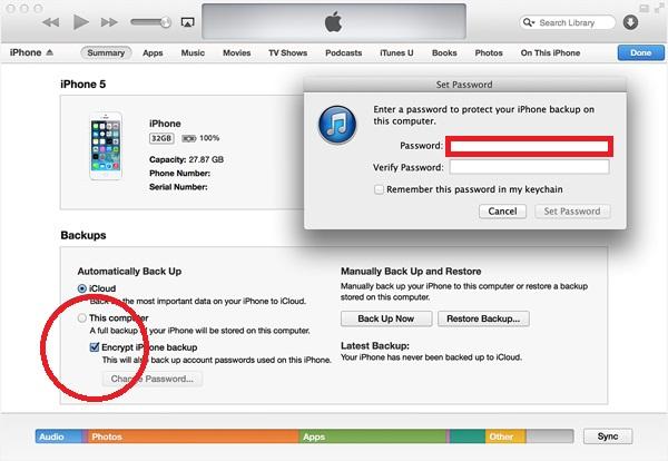 Change iTunes Password