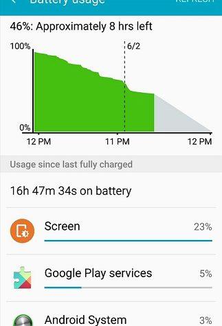 draining battery