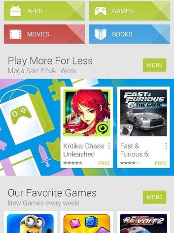 Google Play Account