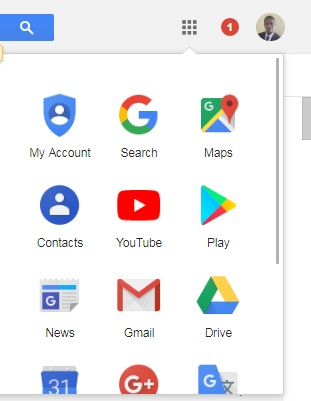 Contacts in Gmail