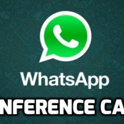Whatsapp Conference Calls