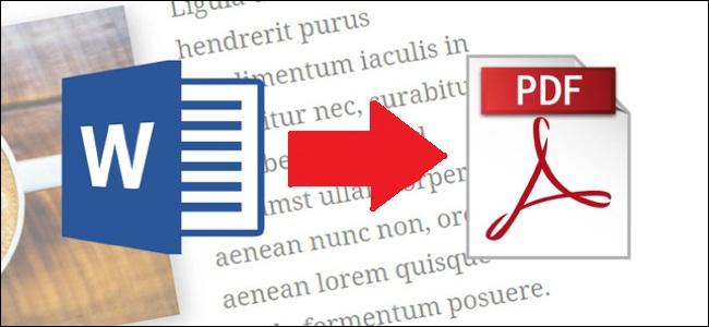 Convert Microsoft Word Document to PDF File