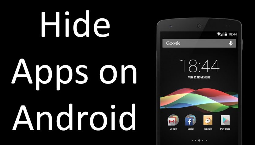 Hide Apps On Android Phone