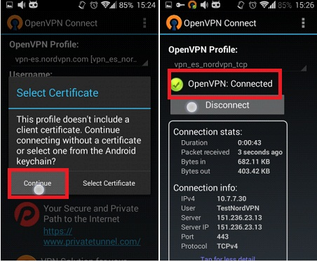 Use OpenVPN On Android Phone