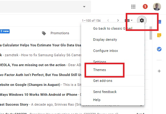 How Enable Dark Mode for Gmail