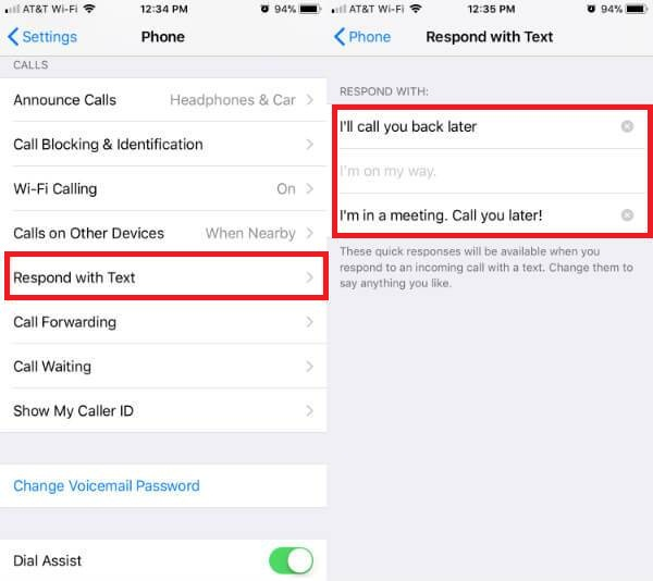 How to Auto Reply to Texts on iPhone While Busy
