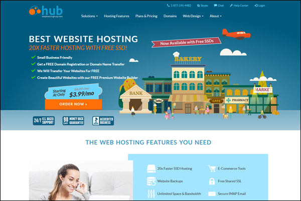 The Best Shared Web Hosting Service