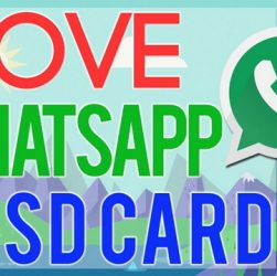 How to Move WhatsApp Media to SD Card